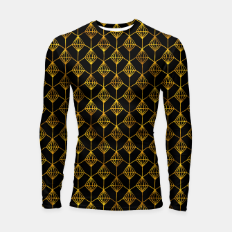 Thumbnail image of Simple Gold Pattern - 06 Longsleeve rashguard , Live Heroes