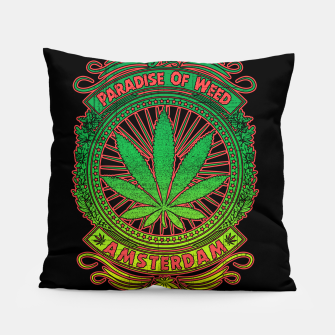 Thumbnail image of PARADISE OF WEED Pillow, Live Heroes