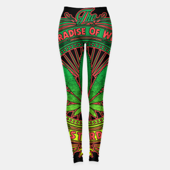 Thumbnail image of PARADISE OF WEED Leggings, Live Heroes