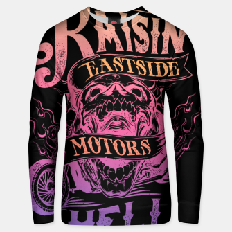 Thumbnail image of RAISIN HOG Unisex sweater, Live Heroes