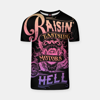 Thumbnail image of RAISIN HOG T-shirt, Live Heroes