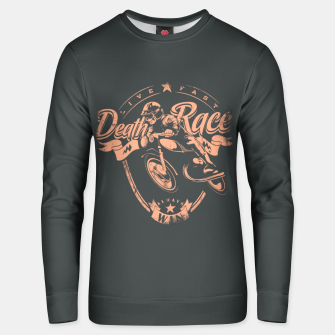 Thumbnail image of Death Race, Live Fast Unisex sweater, Live Heroes