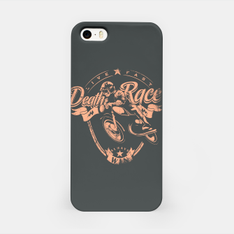 Thumbnail image of Death Race, Live Fast iPhone Case, Live Heroes