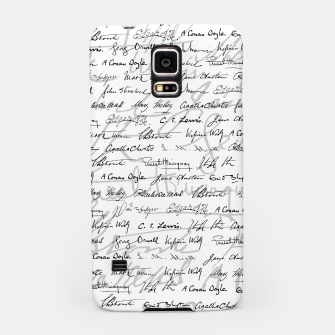 Thumbnail image of Literary Giants Pattern II Samsung Case, Live Heroes