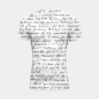 Literary Giants Pattern II Shortsleeve rashguard thumbnail image