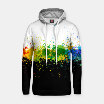 Thumbnail image of Paint Splashes Hoodie, Live Heroes