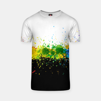 Thumbnail image of Paint Splashes T-shirt, Live Heroes