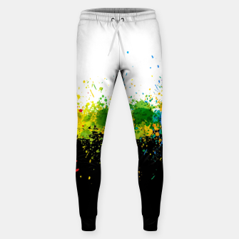 Thumbnail image of Paint Splashes Sweatpants, Live Heroes
