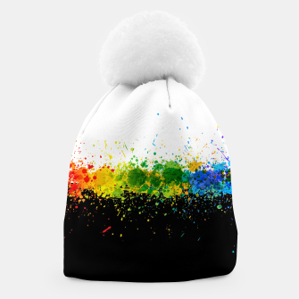Thumbnail image of Paint Splashes Beanie, Live Heroes