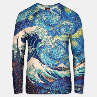 Thumbnail image of Starry Wave Unisex sweater, Live Heroes