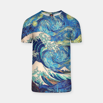 Thumbnail image of Starry Wave T-shirt, Live Heroes