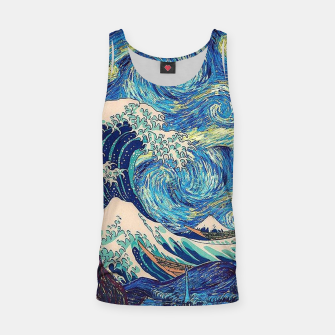 Thumbnail image of Starry Wave Tank Top, Live Heroes