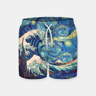 Thumbnail image of Starry Wave Swim Shorts, Live Heroes