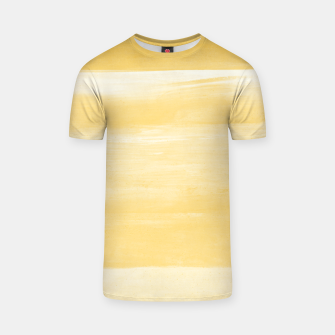 Miniature de image de Yellow Watercolor Abstract Minimalism #1 #minimal #painting #decor #art  T-Shirt, Live Heroes
