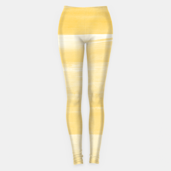 Thumbnail image of Yellow Watercolor Abstract Minimalism #1 #minimal #painting #decor #art  Leggings, Live Heroes