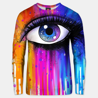 Imagen en miniatura de Colorful Tears Unisex sweater, Live Heroes