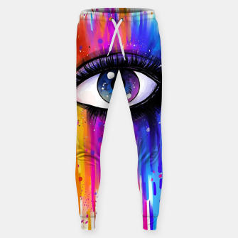 Imagen en miniatura de Colorful Tears Sweatpants, Live Heroes