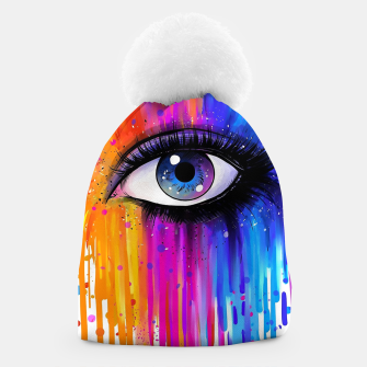 Thumbnail image of Colorful Tears Beanie, Live Heroes