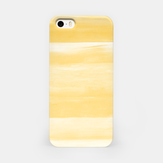 Thumbnail image of Yellow Watercolor Abstract Minimalism #1 #minimal #painting #decor #art  iPhone-Hülle, Live Heroes