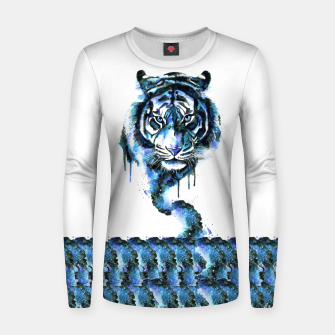 Thumbnail image of Blue Tiger Women sweater, Live Heroes