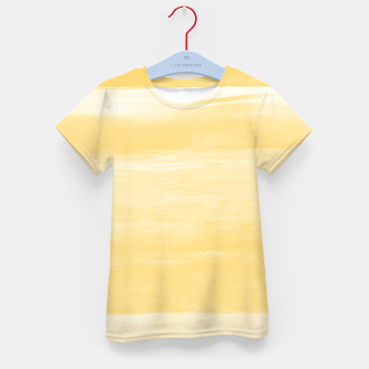Thumbnail image of Yellow Watercolor Abstract Minimalism #1 #minimal #painting #decor #art  T-Shirt für kinder, Live Heroes