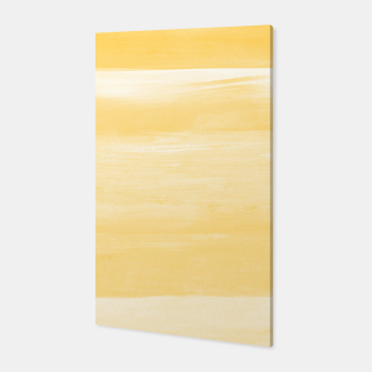 Thumbnail image of Yellow Watercolor Abstract Minimalism #1 #minimal #painting #decor #art  Canvas, Live Heroes