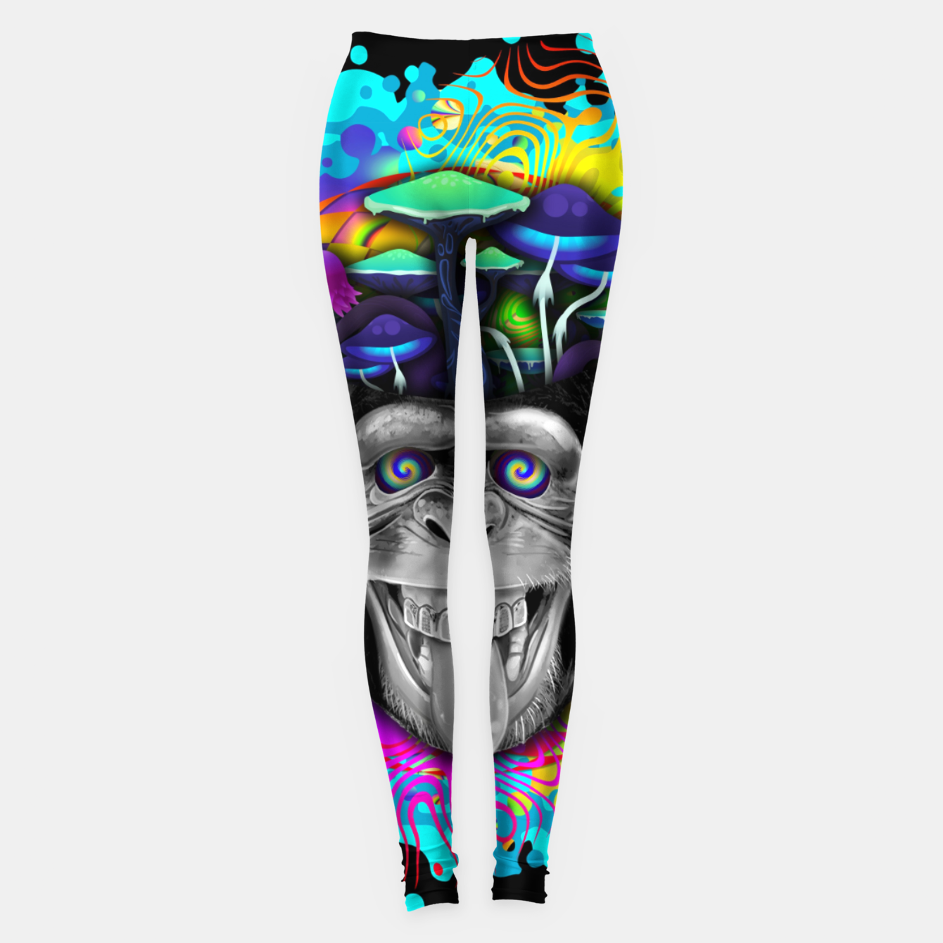 Image of STONED APE THEORY Leggings - Live Heroes