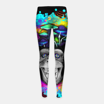 Thumbnail image of STONED APE THEORY Leggings para niña, Live Heroes