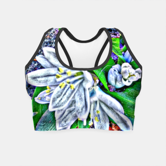Thumbnail image of snowdrop Crop Top, Live Heroes