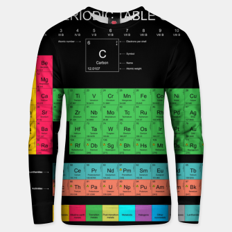Thumbnail image of Periodic Table of The Elements Mendeleev Bluza unisex, Live Heroes