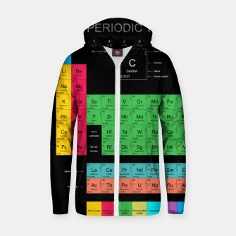 Thumbnail image of Periodic Table of The Elements Mendeleev Bluza z zamkiem, Live Heroes