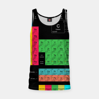Thumbnail image of Periodic Table of The Elements Mendeleev Tank Top, Live Heroes