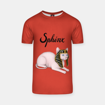 Miniature de image de Sphinx (Red) T-shirt, Live Heroes