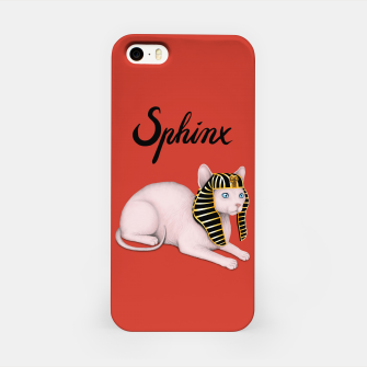 Miniature de image de Sphinx (Red) iPhone Case, Live Heroes