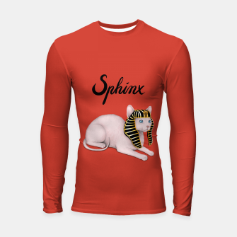 Thumbnail image of Sphinx (Red) Longsleeve rashguard , Live Heroes