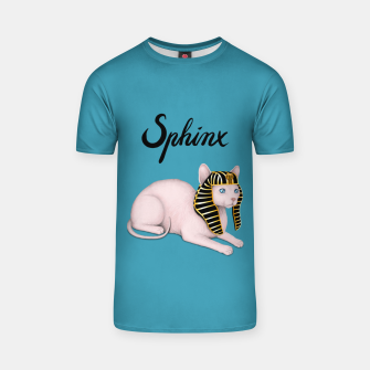 Thumbnail image of Sphinx (Blue) T-shirt, Live Heroes