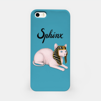 Miniature de image de Sphinx (Blue) iPhone Case, Live Heroes