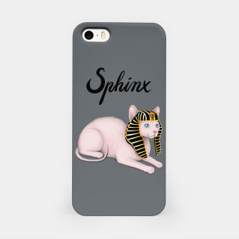 Miniature de image de Sphinx (Grey) iPhone Case, Live Heroes