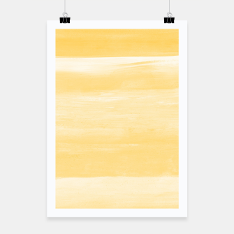 Thumbnail image of Yellow Watercolor Abstract Minimalism #1 #minimal #painting #decor #art  Plakat, Live Heroes
