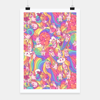 Thumbnail image of Unicorns Poster, Live Heroes