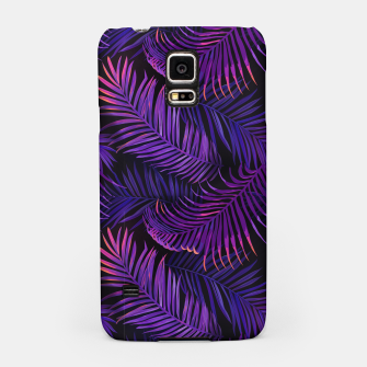 Thumbnail image of Neon Leaves Samsung Case, Live Heroes