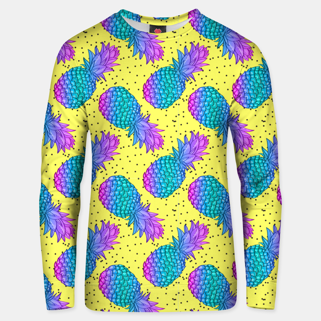 Image of Creative Pineapples Unisex sweater - Live Heroes