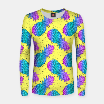 Thumbnail image of Creative Pineapples Women sweater, Live Heroes