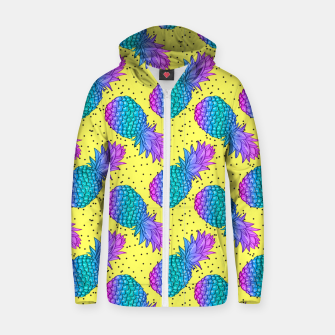 Thumbnail image of Creative Pineapples Zip up hoodie, Live Heroes