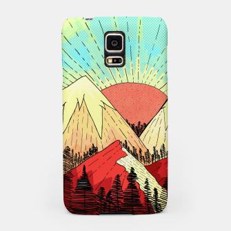 Thumbnail image of Retro mountain hills Samsung Case, Live Heroes