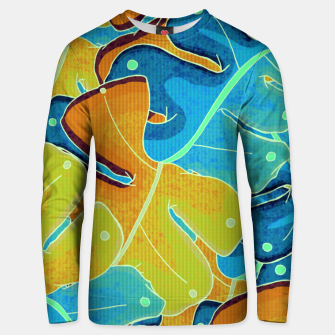 Thumbnail image of Summer leaves Unisex sweater, Live Heroes