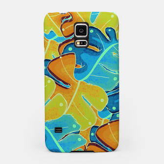 Thumbnail image of Summer leaves Samsung Case, Live Heroes