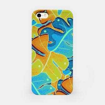 Thumbnail image of Summer leaves iPhone Case, Live Heroes