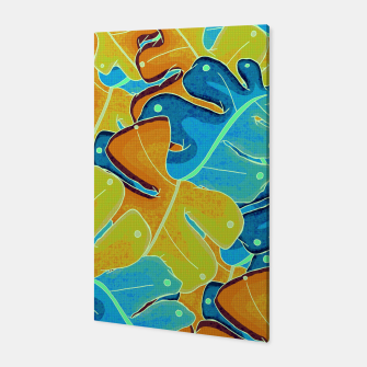 Thumbnail image of Summer leaves Canvas, Live Heroes