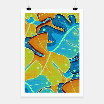 Thumbnail image of Summer leaves Poster, Live Heroes